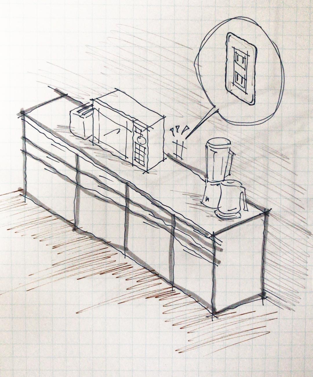 キッチンコンセント