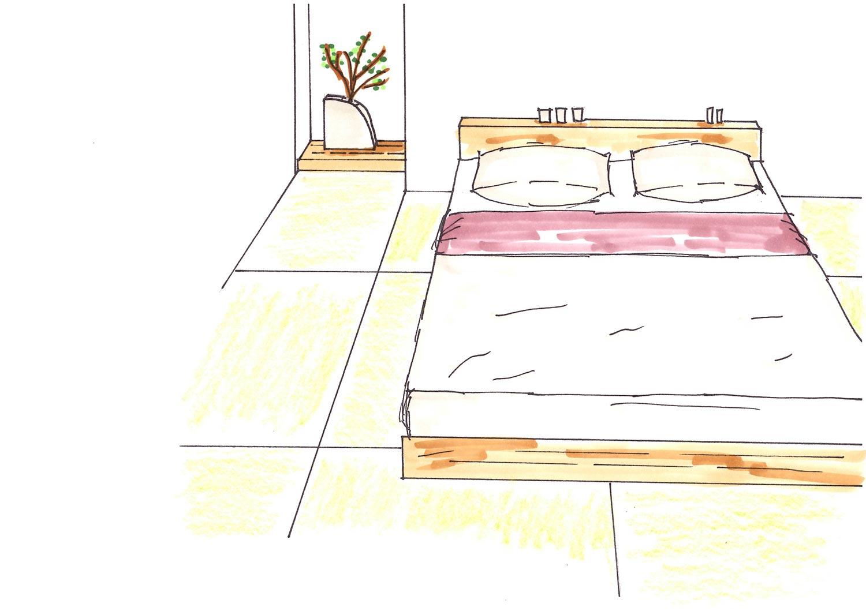 寝室を和室にする
