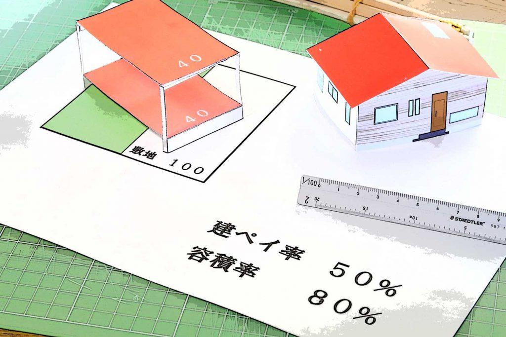 建ぺい率を優しく解説。面積を有効に使う上手なプランニング方法