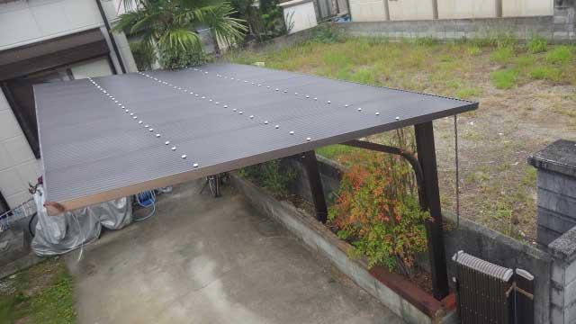 屋根付き駐車場(カーポート)や物置は建ぺい率に含まれる