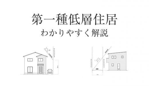 第一種低層住居専用地域。家を建てる時に知るべきメリットとデメリット