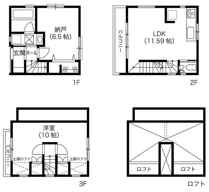 延べ床面積19坪の家