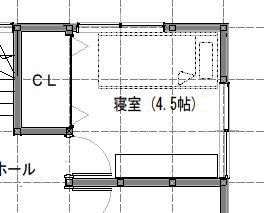 4.5畳の寝室レイアウト