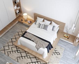 ベッドなどの家具の大きさ